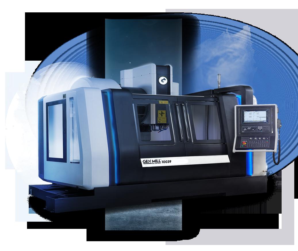 GEN MILL 10039 - 3-Axis High-Speed Vertical Machining Center VMC