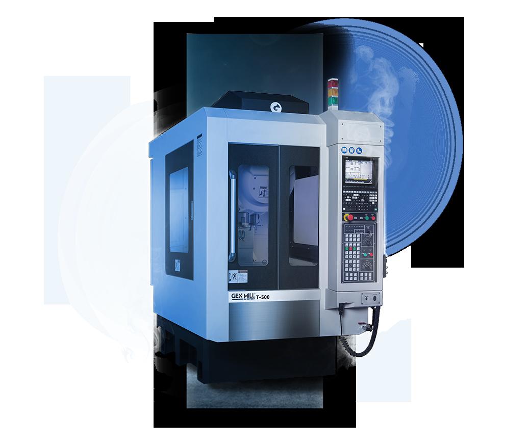 GEN MILL T-500 - 510 mm High Speed Mill-Drill-Tap Machining Center