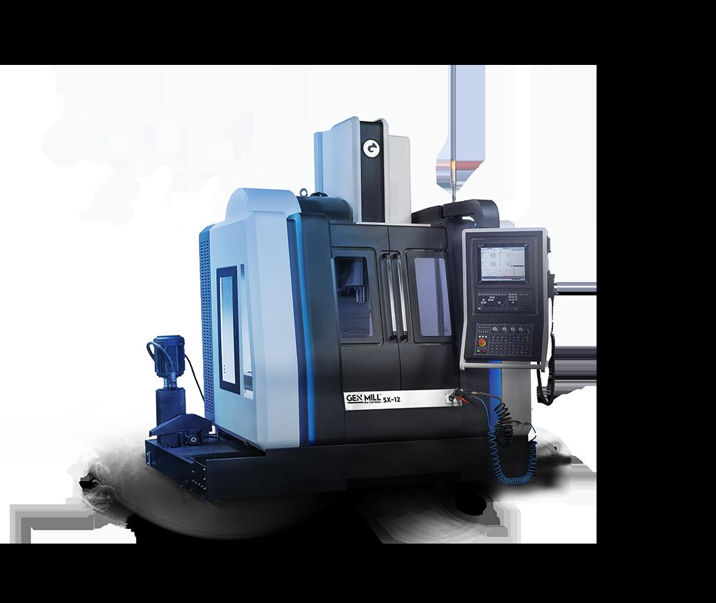 GEN MILL 5X-12 - 5-Axis High Speed VMC Vertical Machine Center  - Expand Machinery