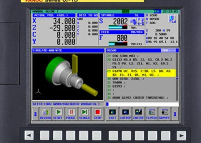 Fanuc Oimd 3 controls picture