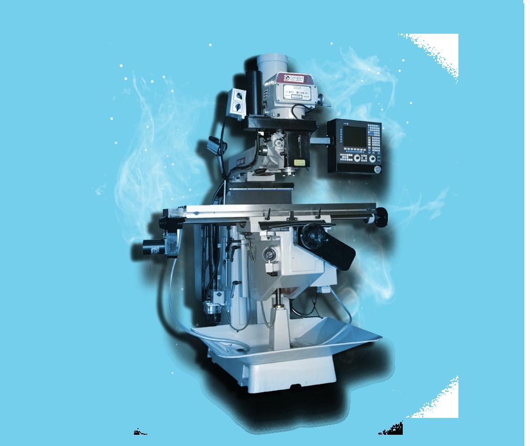 Swiss Screw Machine CNC Knee Mill - Ganesh GMV-1 CNC