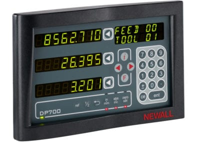 GT 22 Optional Newall DP700 DRO