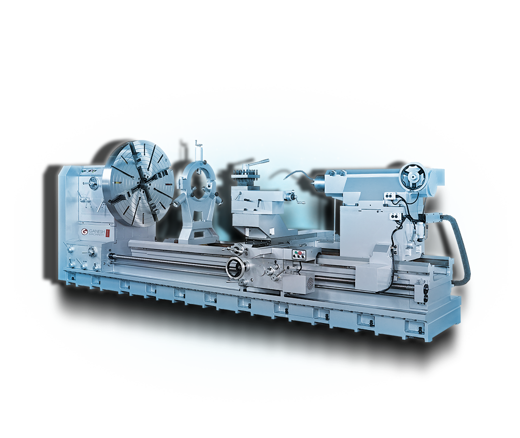 Ganesh GTD-44HK - Precision Lathe Series - Super Heavy-Duty Geared-Head Engine Lathe