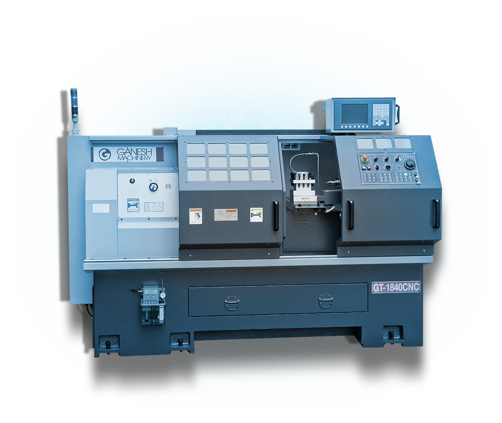 Precision Universal CNC Toolroom Lathe - Ganesh GT-1840 CNC