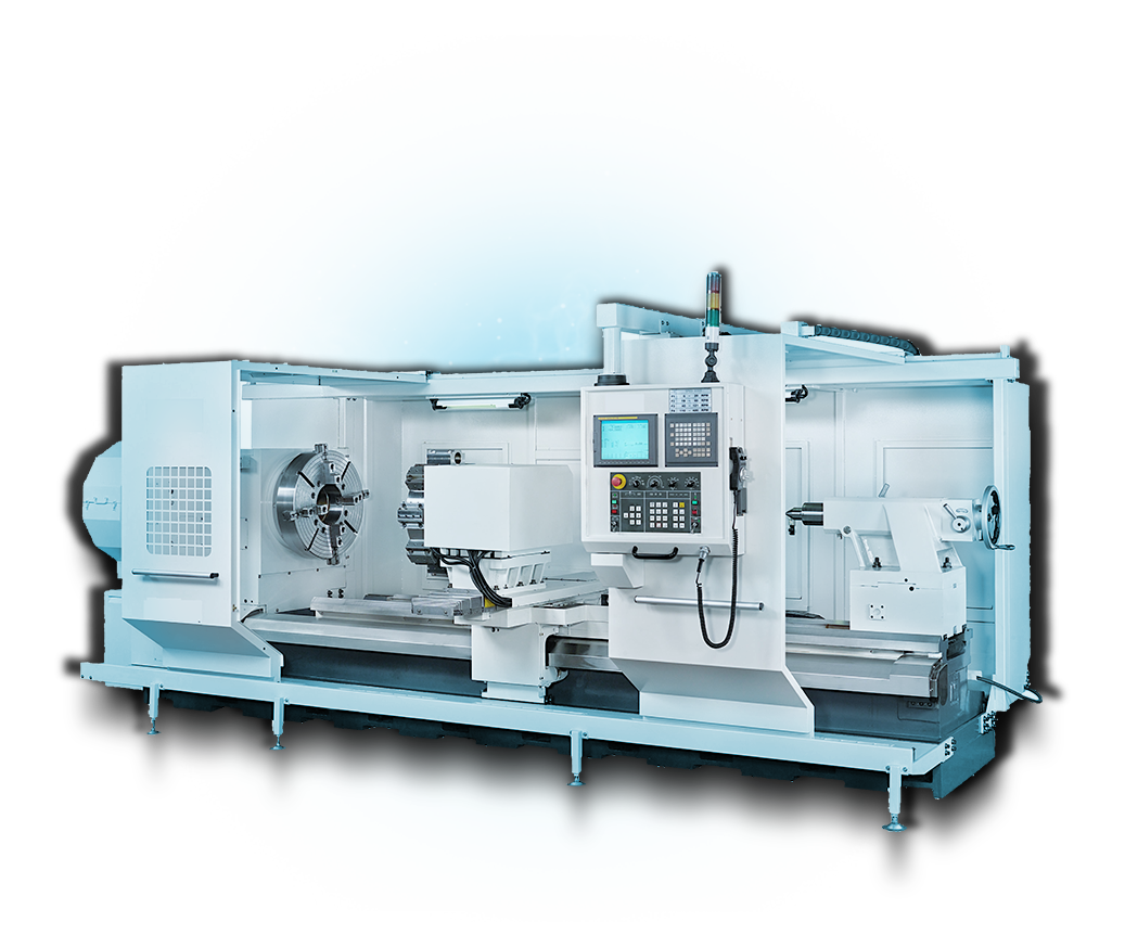 Big Bore CNC Lathe - Heavy-Duty CNC Turing - Ganesh GT-44 CNC