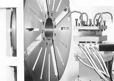 GT 5240 Inside View multi axis cnc machine