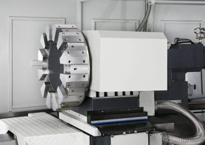 Optional Turret twin spindle lathes