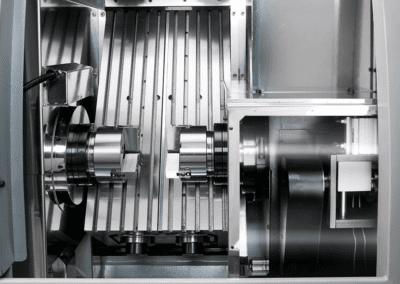 TURN 52 GTS 3 jaw milling machine