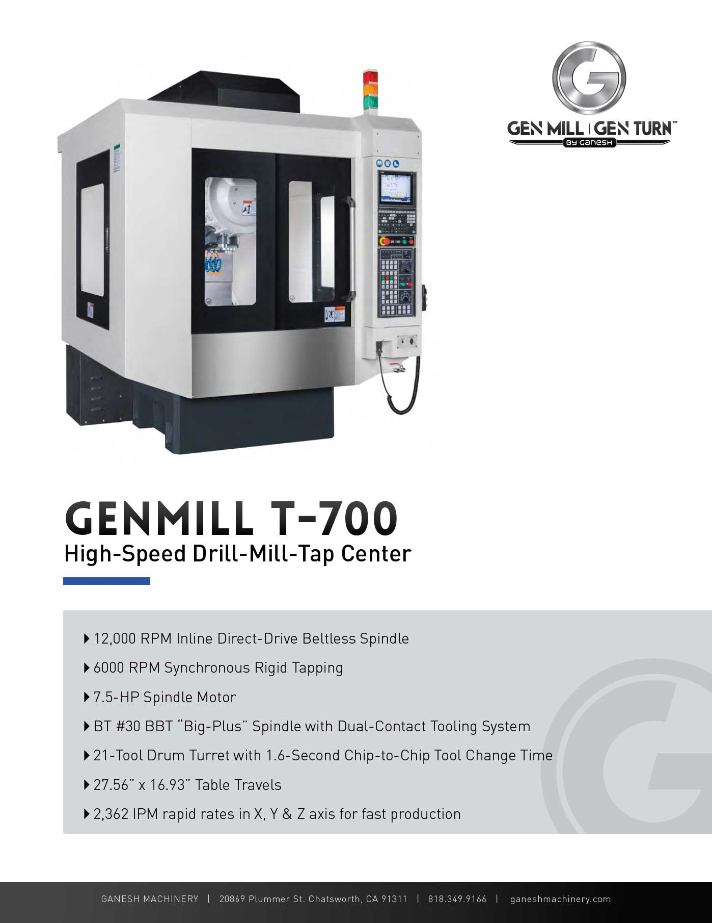 GENMILL T-700 Quote
