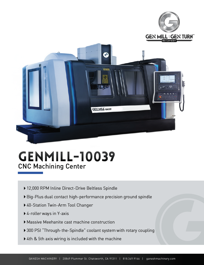 GENMILL 10039 Quote