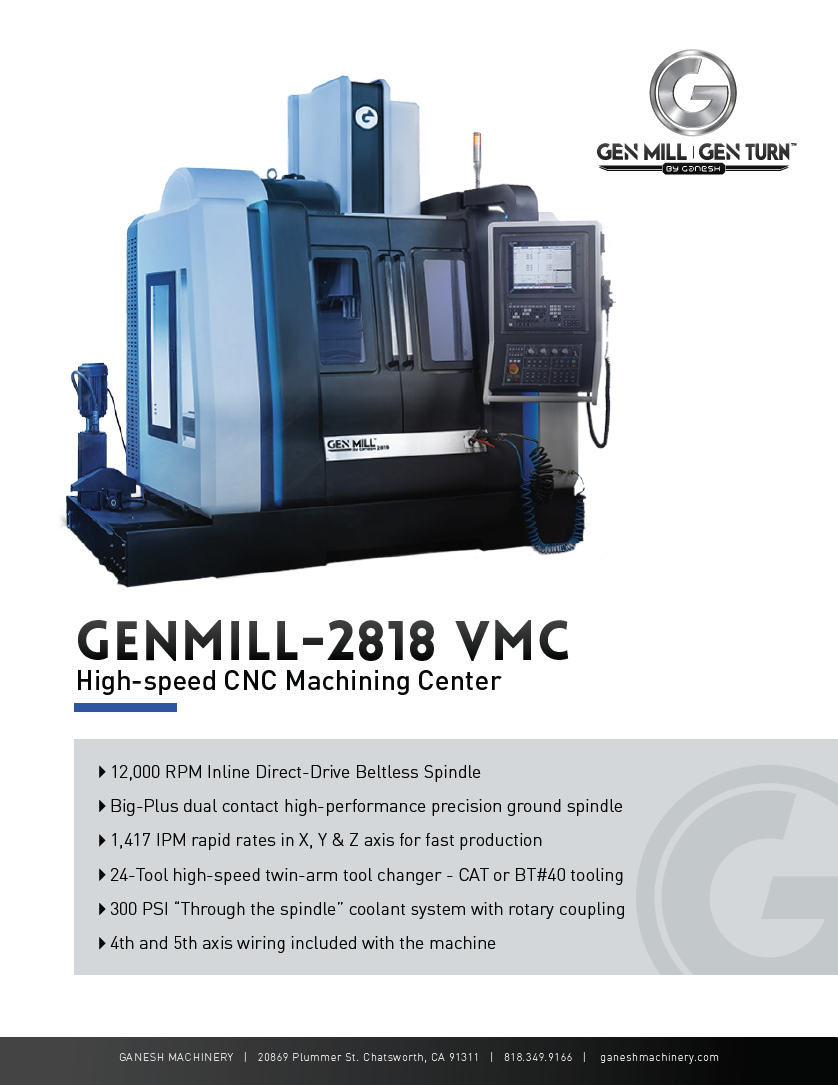 GENMILL 2818 Quote