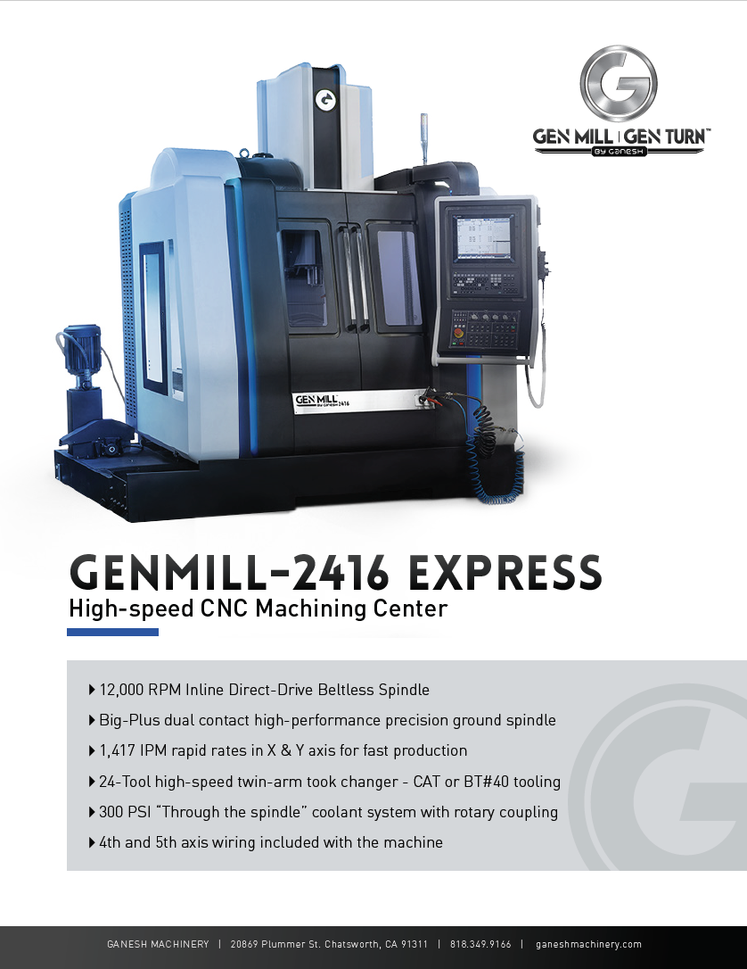 GENMILL 2416 Quote