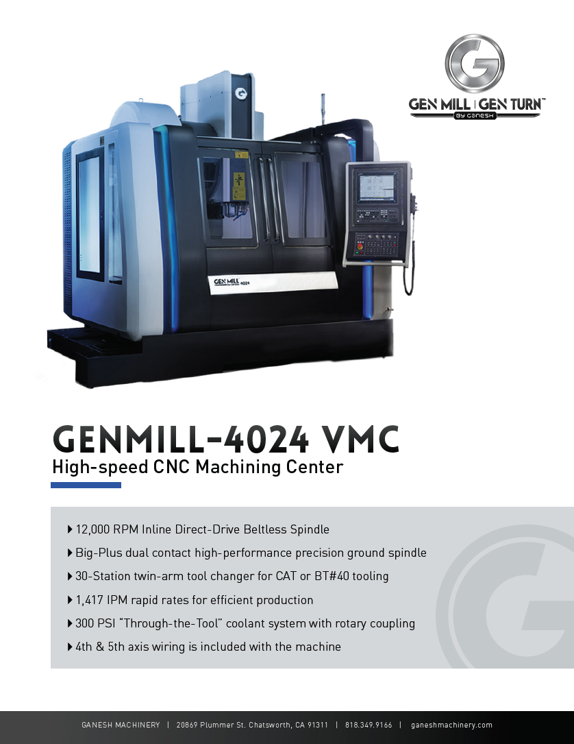 GENMILL 4024 Quote