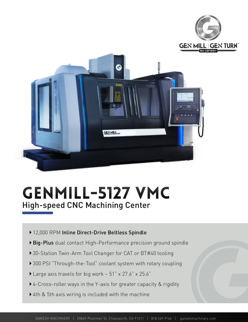 GENMILL 5127 Quote