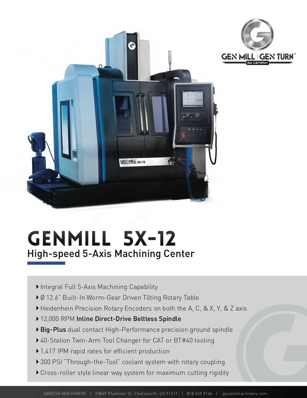 GENMILL 5X-12 Quote