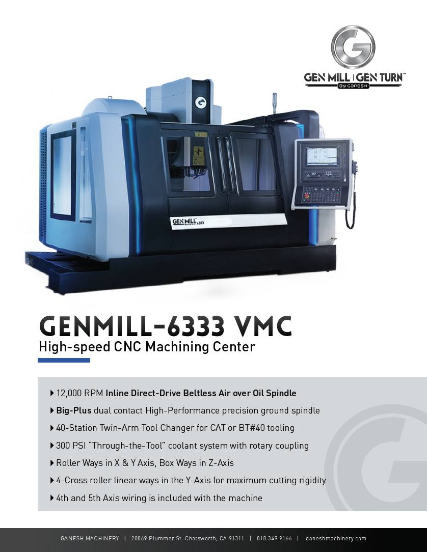 GENMILL 6333 Quote