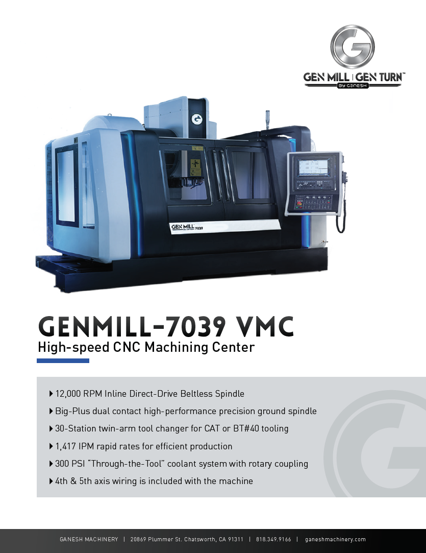 GENMILL 7039 Quote