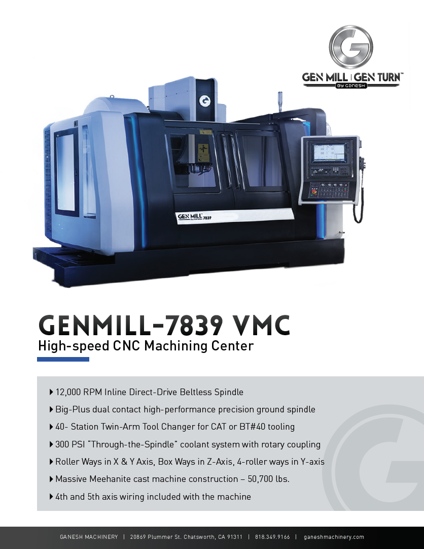 GENMILL 7839 Quote