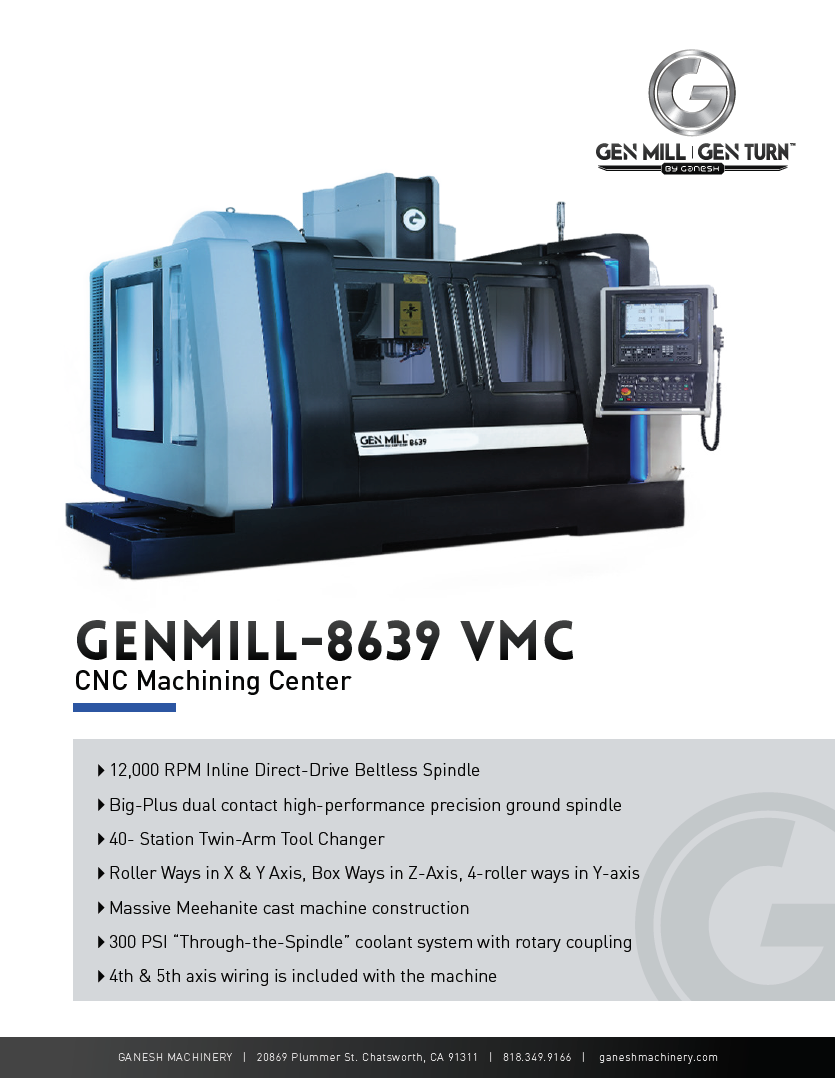 GENMILL 8639 Quote