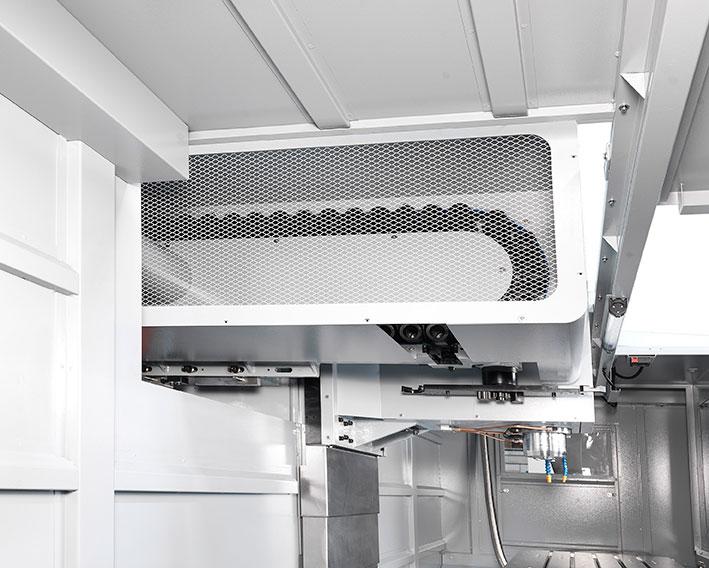 GENMILL 6328 machine interior